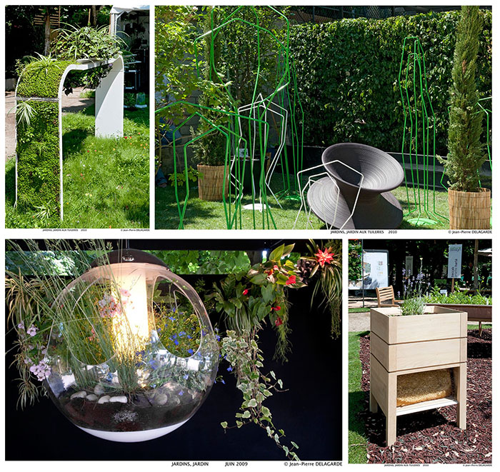 Jardins jardin en juin 2014 le salon du design ext rieur au jardin des tuileries journal d co for Jardin exterieur design