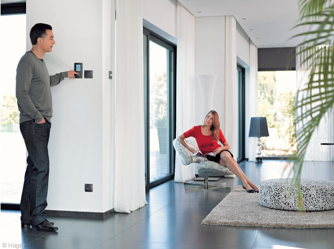 prot ger et d corer un habitat avec un syst me d 39 alarme discret et esth tique journal d co. Black Bedroom Furniture Sets. Home Design Ideas