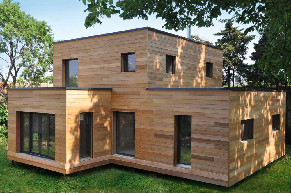 Les avantages de vivre dans une maison en bois for Avantage maison en bois